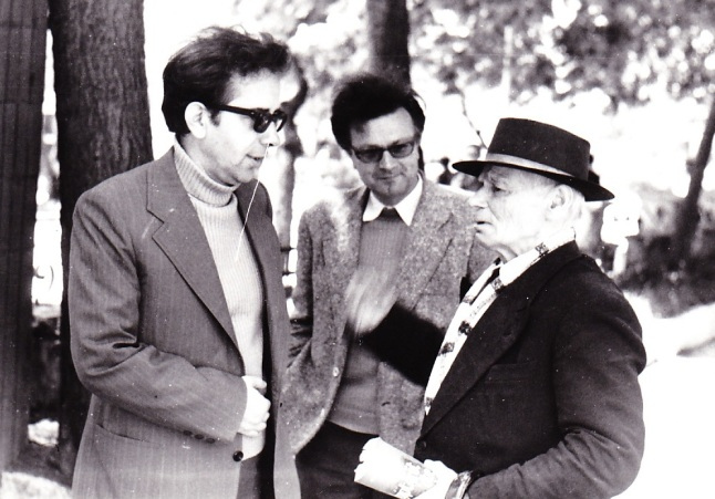 Muharem Fejzo, LAsgush POradeci e Ismail Kadare