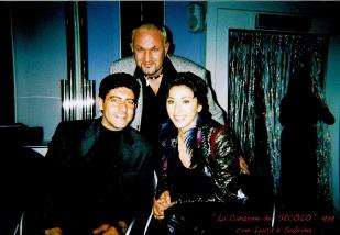 insieme a Luca Laurentis e Sabrina Salerno
